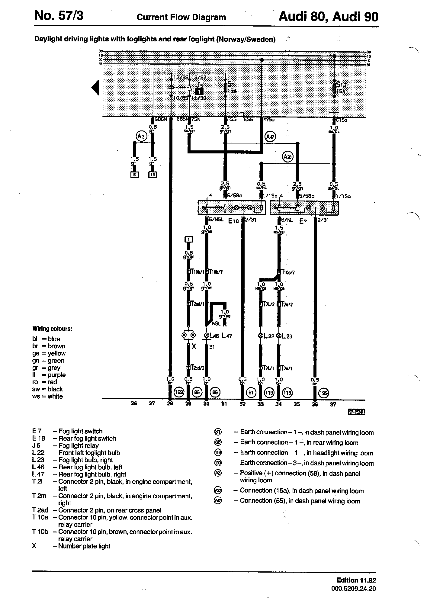 wiring diagrams component lookup fog light relay j5