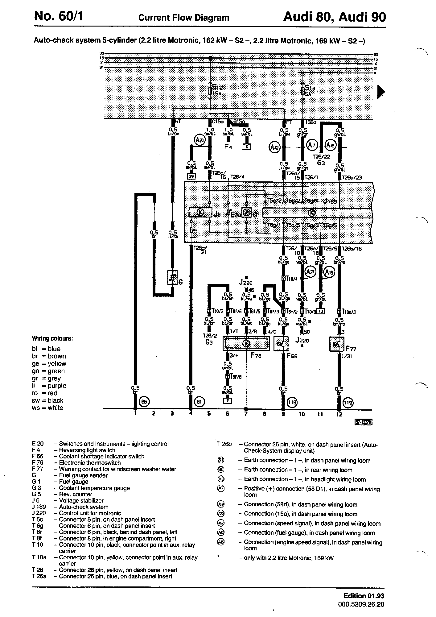 Audi S2 Wiring Diagram Automotive Q7 Diagrams Component Lookup 1997 A4 Combination Switch Engine
